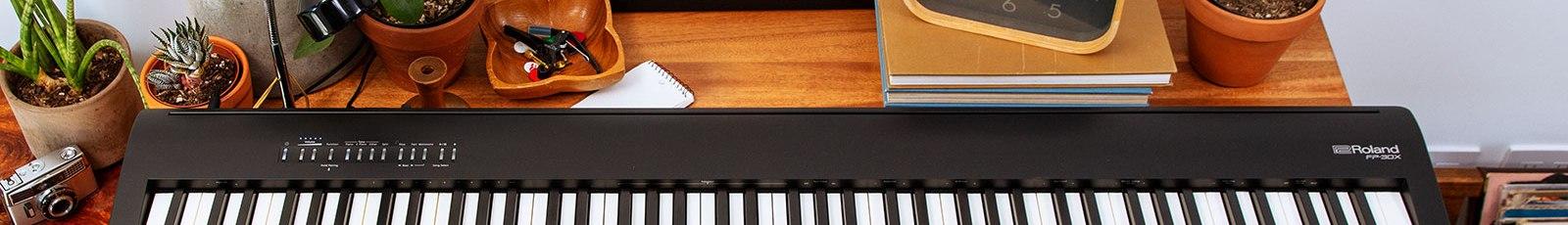 цифровое пианино roland fp-30x черный