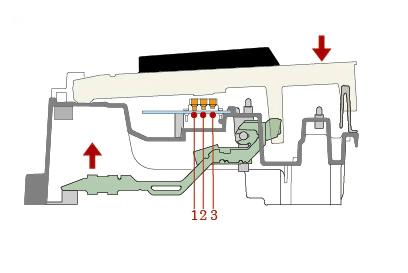 Casio Celviano AP-470 Сенсор механика